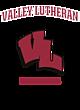Valley Lutheran New Era Ladies Heritage Blend Varsity Hoodie