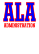 American Leadership Academy Embroidered Bella Unisex Jogger Sweatpants
