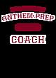 Anthem Prep Vintage Heather Hooded Unisex Sweatshirt