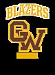 Golden West Womens Holloway Heather Electrify V-Neck Shirt