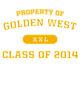 Golden West New Era Ladies Tri-Blend Hooded Sweatshirt