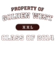 Golden West Vintage Heather Long Sleeve Competitor T-shirt