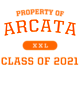 Arcata Ladies Tri-Blend Wicking Fan Tee