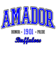 Amador Fan Favorite Heavyweight Hooded Unisex Sweatshirt