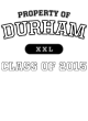 Durham Youth Tri-Blend Wicking Raglan Tee