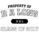 R A Long Classic Crewneck Unisex Sweatshirt