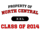 North Central Champion Heritage Jersey Tee