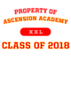 Ascension Academy Classic Fit Heavy Weight T-shirt