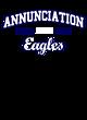 Annunciation New Era Sueded Cotton Baseball T-Shirt