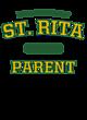 St. Rita Tri Blend V-Neck T-Shirt