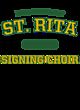 St. Rita Nike Ladies Core Cotton Long Sleeve T-Shirt