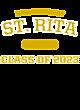 St. Rita Sport-Wick Heather Fleece Hooded Pullover