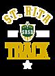 St. Rita Womens Cotton V-Neck T-shirt