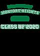 Monfort Heights Fan Favorite Heavyweight Hooded Unisex Sweatshirt