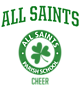 All Saints Ladies Kinergy 2 Color Long Sleeve Raglan T-Shirt