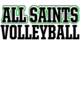 All Saints Adult Baseball T-Shirt