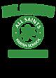 All Saints Embroidered Sport Tek Fleece Lined Jacket