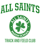 All Saints Ladies Performance Blend V-Neck T-Shirt