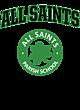 All Saints Ladies Tri Blend Racerback Tank