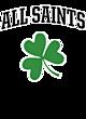 All Saints Youth Heavyweight Sleeve Stripe Hooded Sweatshirt