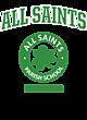 All Saints New Era Tri-Blend Pullover Hooded T-Shirt