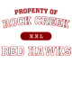 Rock Creek Womens Competitor Racerback Tank