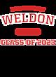 Weldon Youth Heavyweight Sleeve Stripe Hooded Sweatshirt