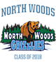 North Woods Holloway Youth Prospect Unisex Hooded Sweatshirt