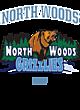 North Woods Vintage Heather Hooded Unisex Sweatshirt
