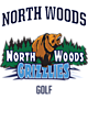 North Woods Womens V-Neck Competitor T-shirt