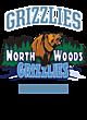 North Woods New Era Ladies Tri-Blend Performance Baseball Tee
