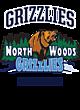 North Woods Kinergy Two Color Long Sleeve Raglan T-Shirt