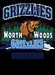 North Woods Ladies Performance Blend V-Neck T-Shirt