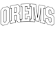 Orems Classic Fit Heavy Weight T-shirt