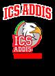 ICS ADDIS Ladies Kinergy 2 Color Long Sleeve Raglan T-Shirt