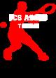 ICS ADDIS Ladies Sport-Wick Heather Fleece Hooded Pullover