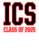 ICS ADDIS Embroidered Youth Quarter Zip Sweatshirt