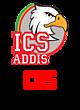ICS ADDIS Embroidered Full Zip Hooded Unisex Sweatshirt