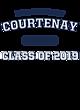 Courtenay Womens Long Sleeve V-Neck Competitor T-Shirt