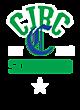 CJRC Tri-Blend Wicking Fleece Short Sleeve Hoodie