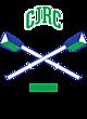 CJRC Ladies Game Long Sleeve V-Neck Tee