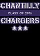 Chantilly Womens Holloway Electrify V-Neck Long Sleeve