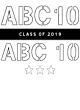 ABC10 Classic Fit Heavy Weight T-shirt