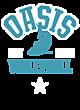 Oasis Vintage Heather Hooded Unisex Sweatshirt