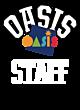 Oasis Nike Ladies Core Cotton Scoop Neck T-Shirt
