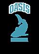 Oasis New Era Ladies Tri-Blend Hooded Sweatshirt