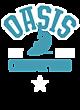 Oasis Pigment Dyed Hooded Unisex Sweatshirt