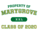 Marygrove Youth Core Fleece Pullover Hooded Sweatshirt
