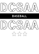 DCSAA Heathered Short Sleeve Performance T-shirt