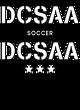 DCSAA Ladies Tri-Blend Wicking Long Sleeve Hoodie